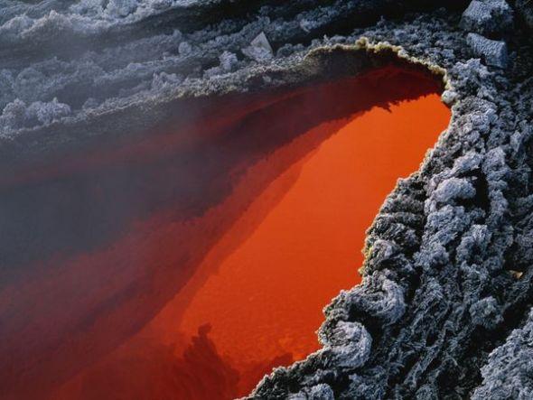 埃特纳火山熔岩流