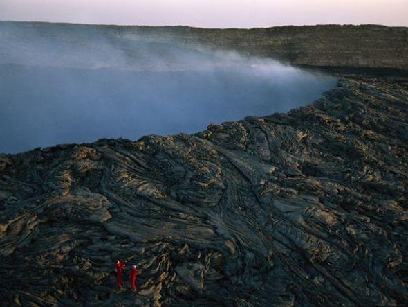 埃塞俄比亚厄塔尔火山口