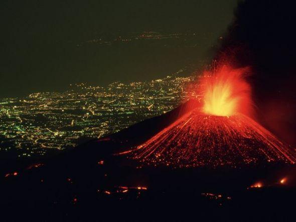 意大利埃特纳火山