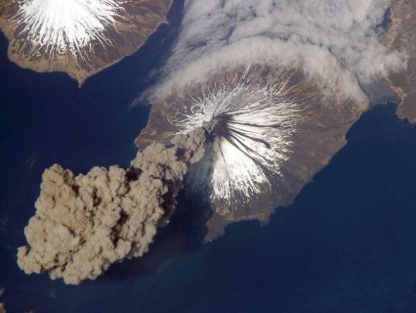 美国阿拉斯加州克利夫兰火山