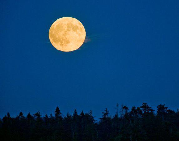 图片:美国国家地理2010年十大太空发现-2010年最大满月