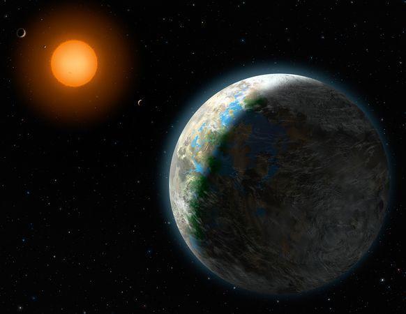 图片:美国国家地理2010年十大太空发现-发现适居行星?