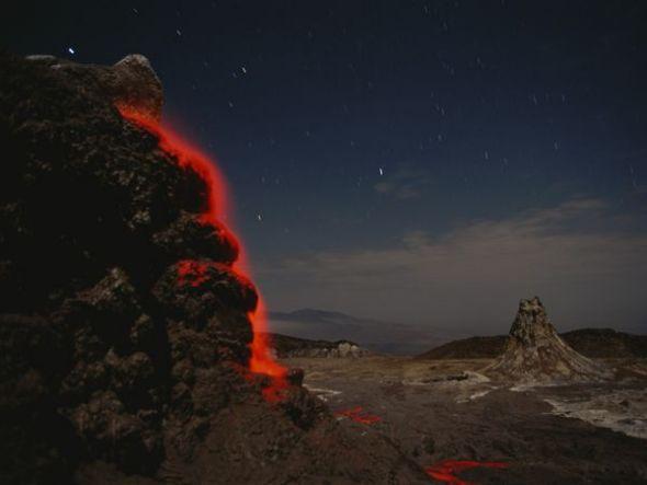 伦盖伊火山