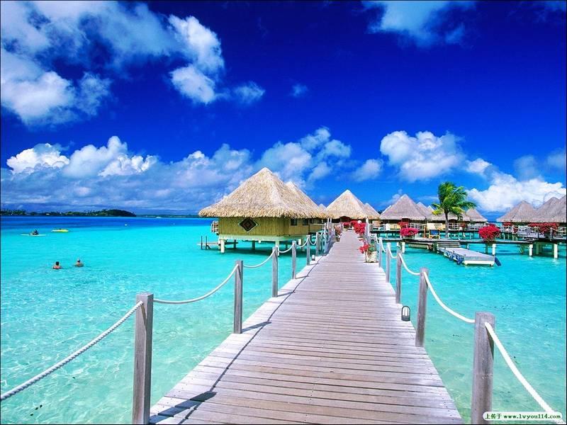 图片:最佳蜜月旅行推荐-马尔代夫
