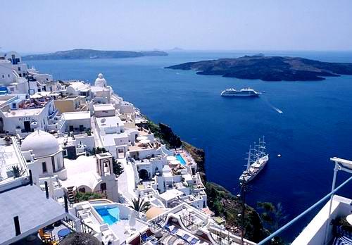 图片:最佳蜜月旅行推荐-希腊