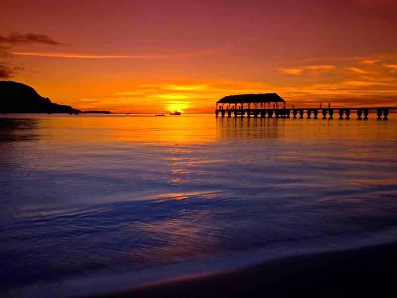 图片:最佳蜜月旅行推荐-夏威夷