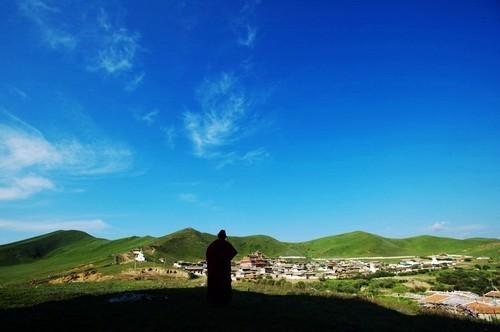 图片:四川阿坝唐克乡风景