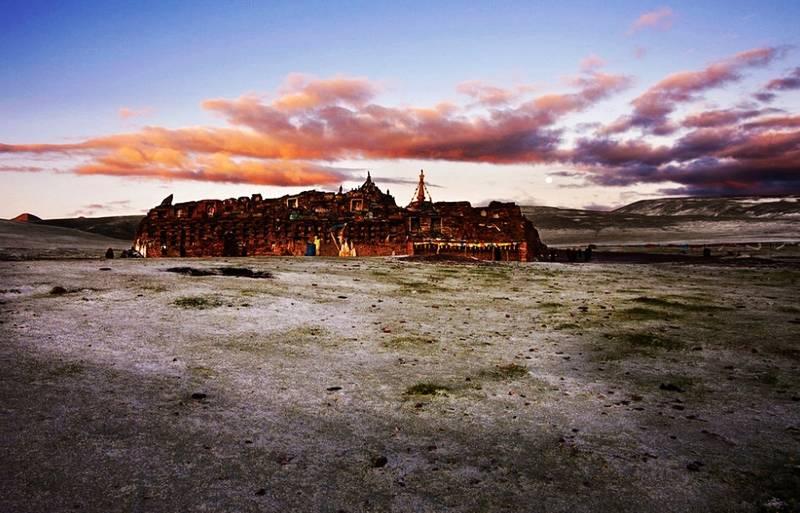 图片:四川石渠-松格嘛呢石经城