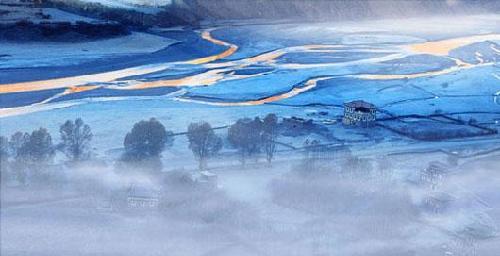 图片:新疆阿尔泰白哈巴