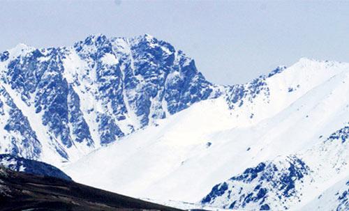 新疆托木尔冰川