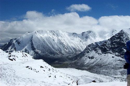 新疆特拉木坎力冰川