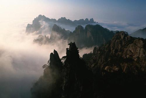亚洲世界遗产-黄山,中国