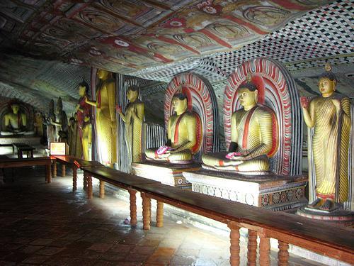 亚洲世界遗产-丹布拉石窟寺,斯里兰卡