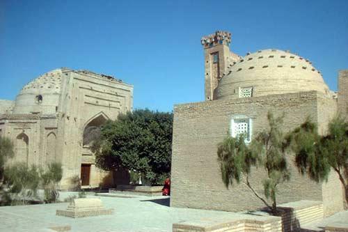 亚洲世界遗产-Konya-Urgench小镇,土库曼斯坦