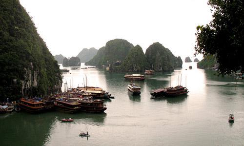亚洲世界遗产-下龙湾,越南