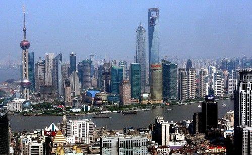图片:上海浦东陆家嘴金融贸易区