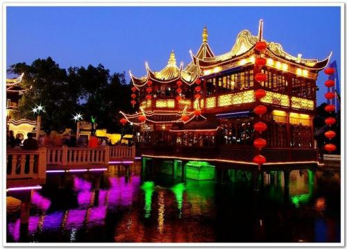 上海老城隍庙-豫园