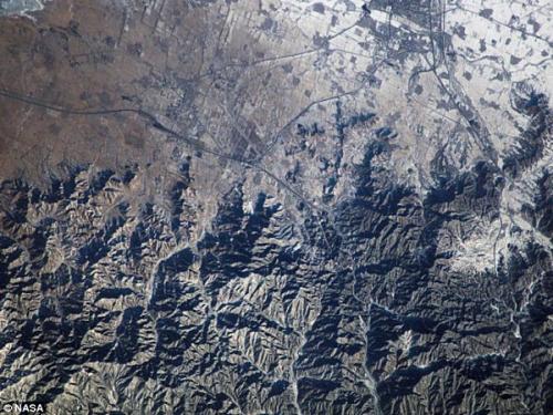 图片:雄伟蜿蜒的中国万里长城