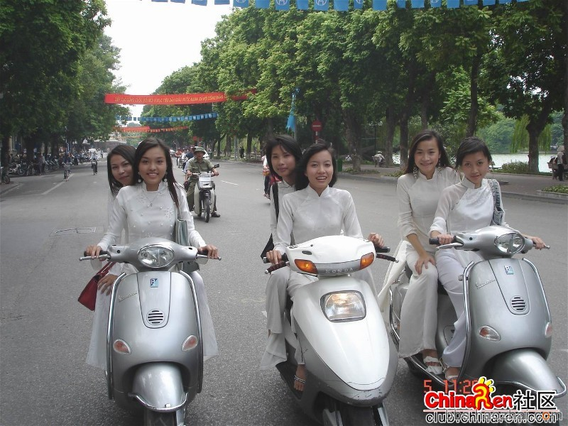 图片:越南街头