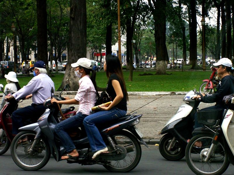 图片:越南河内街头