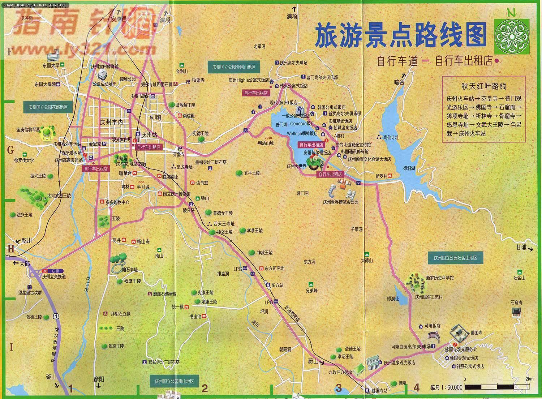 韩国庆州旅游景点线路地图- 亚洲地图asia map.世界地图- 美景旅游网