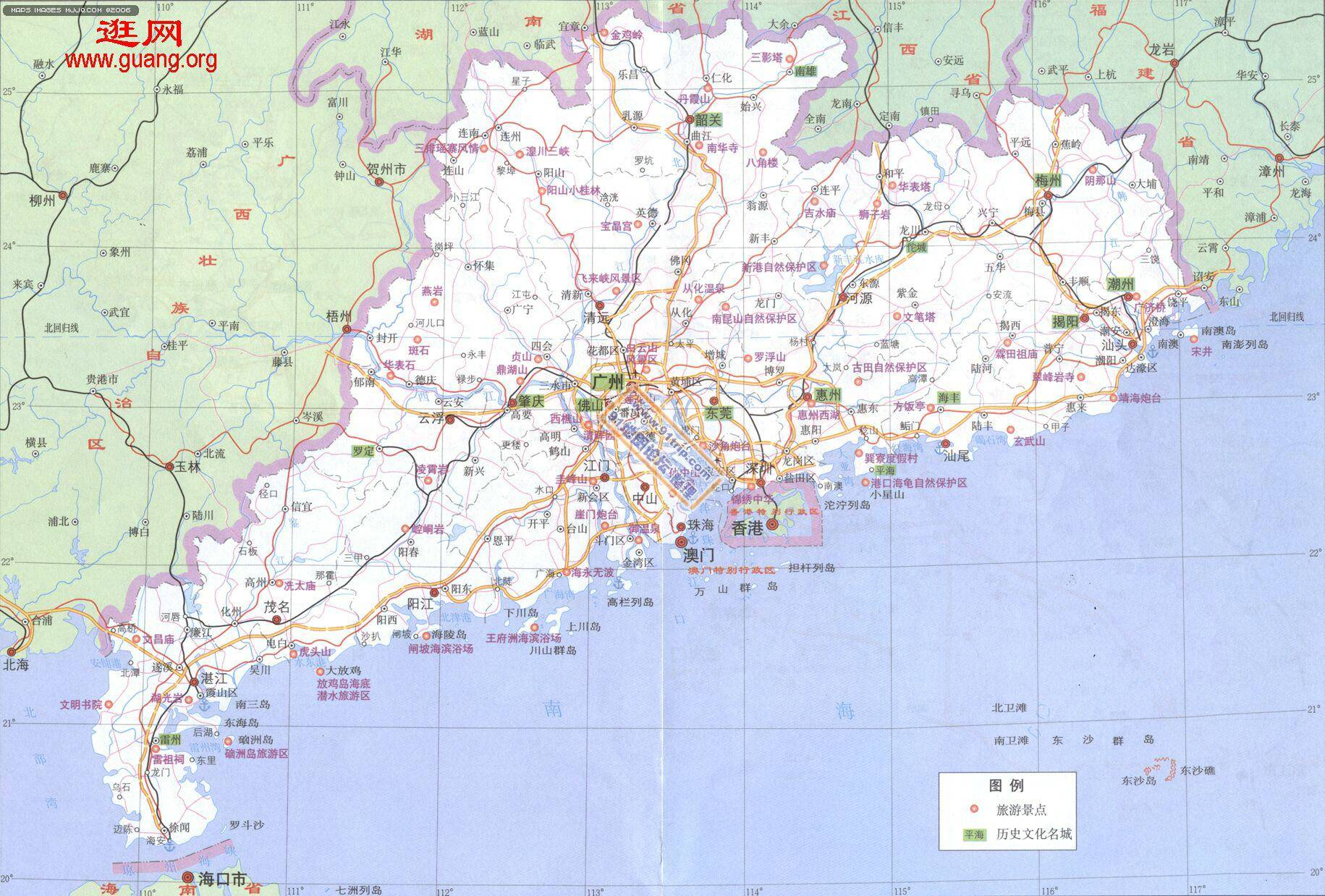 地图 广东 湛江 地图 广东 肇庆 地图 广东 潮州 地图